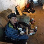 Adriane Cook says she's been living under the viaduct on the 300 block of N. Oakley on and off for six years. She says streets and sanitation sweeps them out weekly and that they're not causing problems despite some neighborhood complaints.