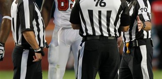 Replacement referees will continue into the regular NFL season.