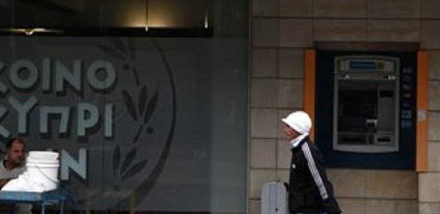 Cyprus sees a run on its banks