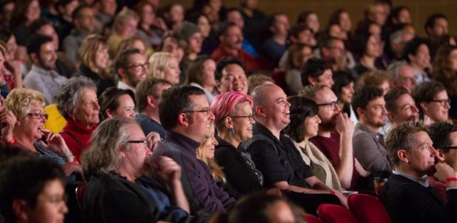 Ask Me Another : Sketchfest 2015: Alex Borstein, Brad Bird and Dan Savage Image