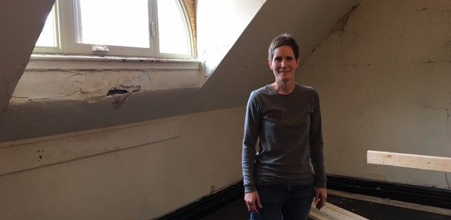 Pastor Beth Brown said the congregation at Lincoln Park Presbyterian Church deliberated carefully about outfitting part of their church as an apartment to house undocumented immigrants.
