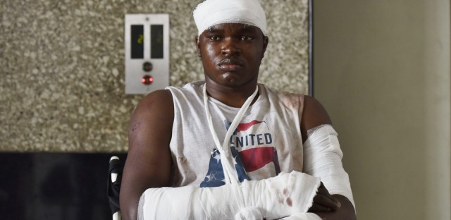 Endurance Amalawa, a Nigerian studying in India, was admitted to the hospital after being attacked by a mob in Greater Noida. Locals had blamed a group of Nigerian students for the death of an Indian teenager even though the police had no evidence linking them with the youngster.