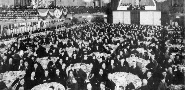 The Palmer House banquet
