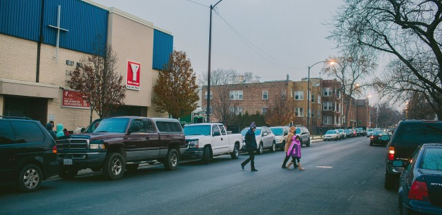 The Urban Warriors program takes place at YMCAs in  Chicago's Humboldt Park and Little Village neighborhoods.