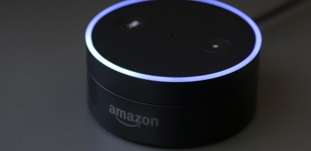 Gizmodo's Kashmir Hill tried to disconnect from all Amazon products, including smart speakers, as part of a bigger experiment in living without the major tech players. Jeff Chiu/AP