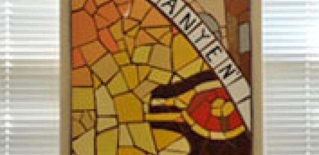 Detail of a Ga-Du-Gi mural