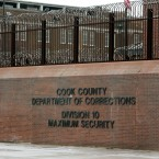 An entrance to the Cook County Jail in Chicago. A coach with the Chicago Fire's junior soccer team is facing charges for allegedly inappropriately touching three teenage female soccer players and grooming them for sex.