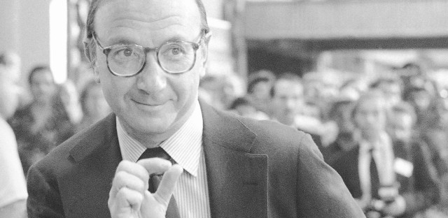Playwright and screenwriter Neil Simon, photographed here in September 1980, wrote over 50 works for theater and screen.