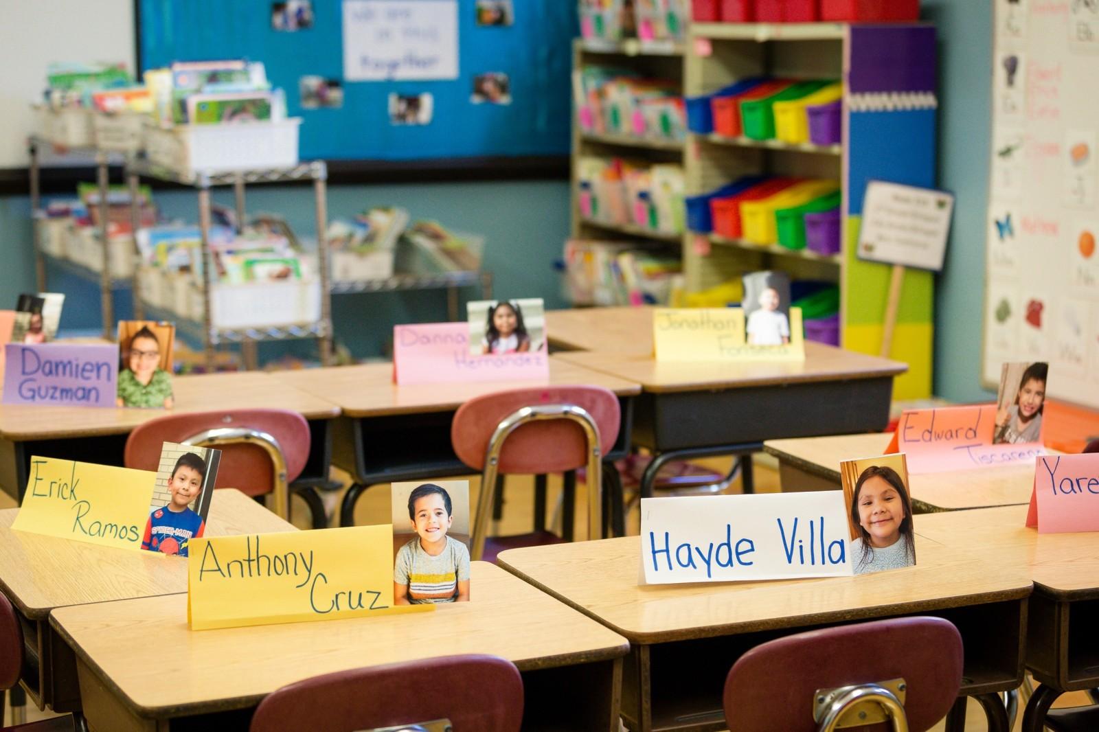 Contreras classroom desks