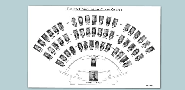 City council seating chart