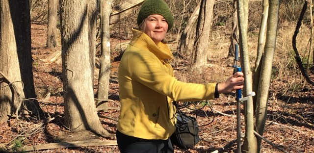UMCES coastal ecologist Lora Harris