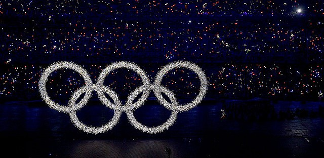 The Beijing Summer Olympics opening ceremony. Eh.