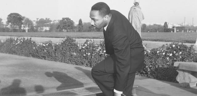 MLK in India