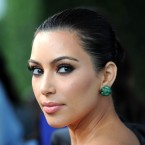 Kim Kardashian arrives at The Midori Trunk Shows at Trousdale in May 2011 in West Hollywood, Calif.