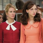 Anna Camp, Erin Darke and Genevieve Angelson star in Good Girls Revolt, which is based on a landmark gender bias case at Newsweek.