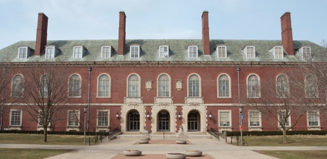 Main Library at Universtiy of Illinois-Urbana