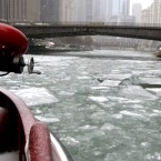 Icebreakers of the Chicago River: How bubblers, boats and brawn keep the city safe each winter