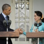 Obama promotes reform and democracy in Burma