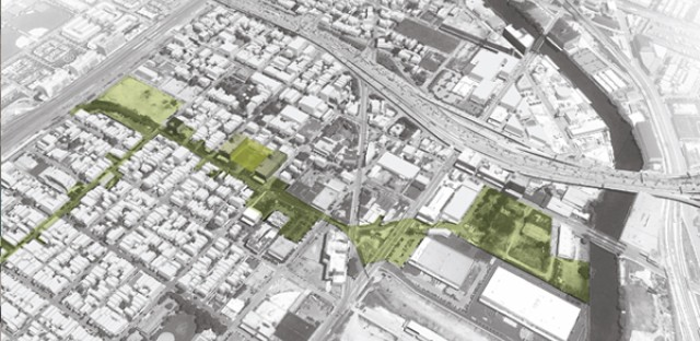 UrbanWorks master plan for Pilsen aims to increase the neighborhood's greenspace.