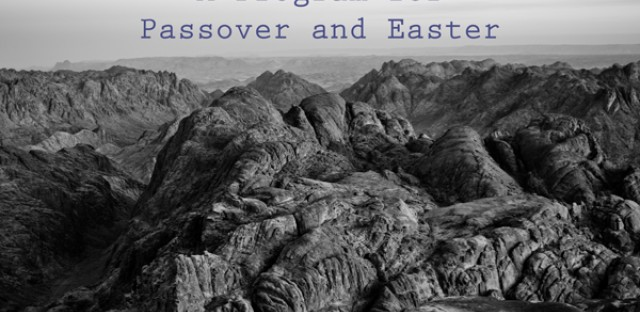 On Being : Sandy Eisenberg Sasso, Richard Hays, and Linda Loving — Passover and Easter (April 8, 2004) Image