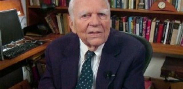 A few more minutes with Andy Rooney
