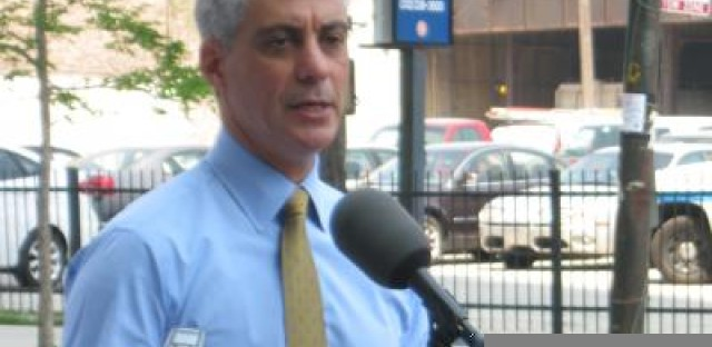 Emanuel announces installation of protected bike lanes on Kinzie