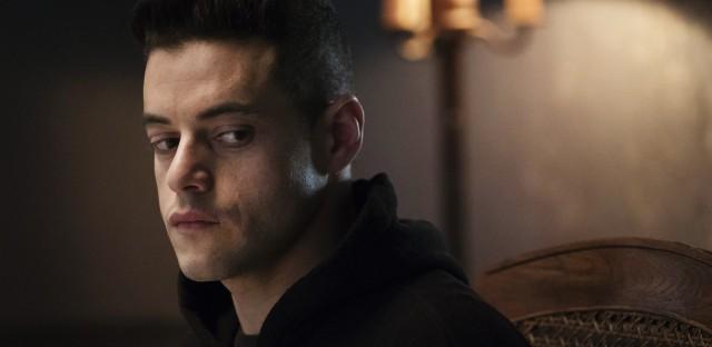 Rami Malek as troubled hacker Elliot Alderson in Mr. Robot. The show's second season starts tonight.