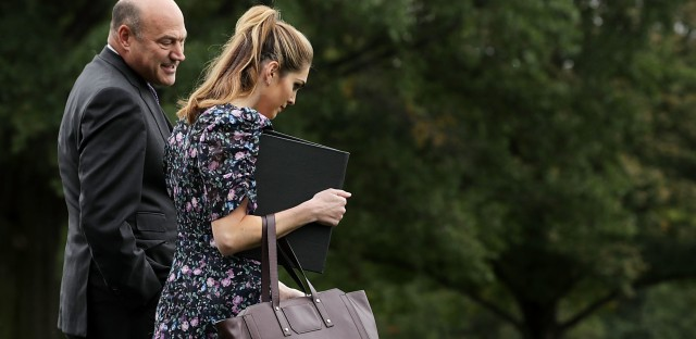 White House economic adviser Gary Cohn and communications director Hope Hicks have both announced they are leaving the Trump administration in the coming weeks.