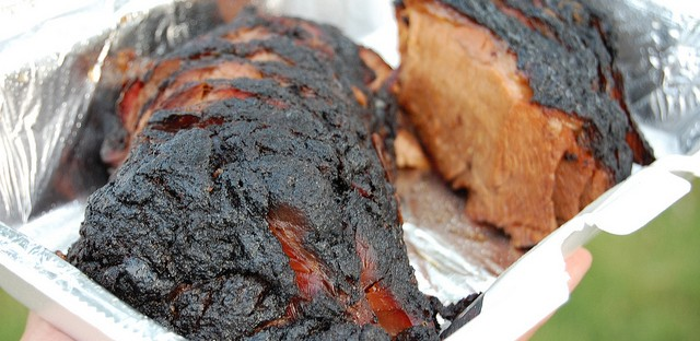 Burnt ends by Smoque BBQ