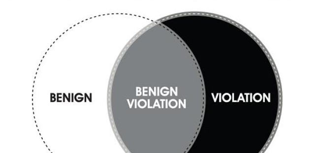 Finding humor in 'benign violations'