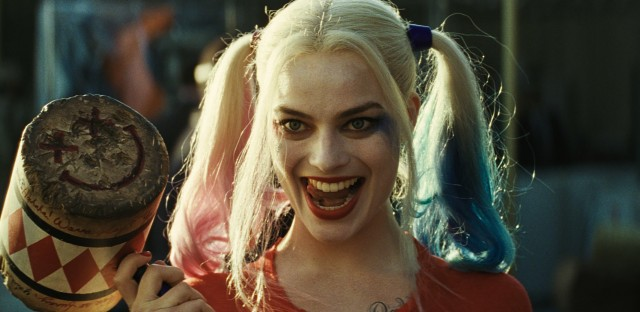 Margot Robbie plays Harley Quinn in the new film Suicide Squad.