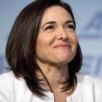 Facebook Chief Operating Officer Sheryl Sandberg speaks at the American Enterprise Institute in 2016.