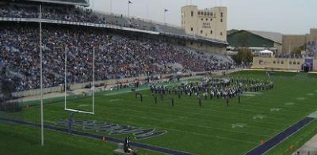 The Northwestern Wildcats were among those college teams whose season kicked off this weekend.
