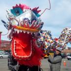 Lunar New Year Dragon