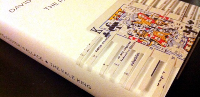 Non-Pulitzer winner 'The Pale King' by the late David Foster Wallace.