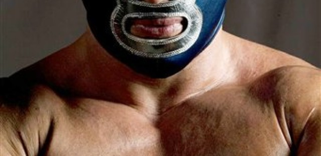 Blue Demon, Jr. is a popular Mexican wrestler who says he's a defender of immigrants and U.S. Latinos.