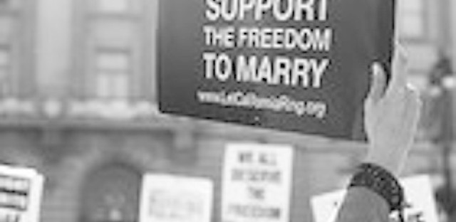 One and only Republican senator in support of gay marriage