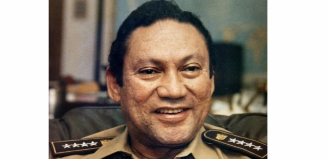 Panamanian military leader Gen. Manuel Noriega