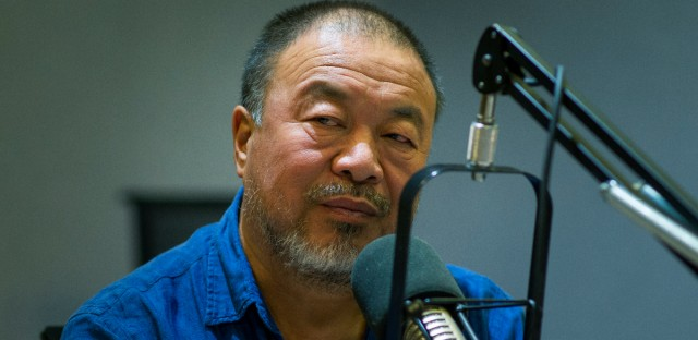 Famed artist and activist Ai Weiwei.