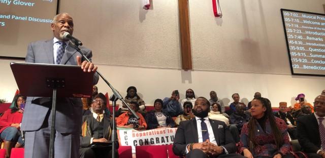 Danny Glover Evanston reparations