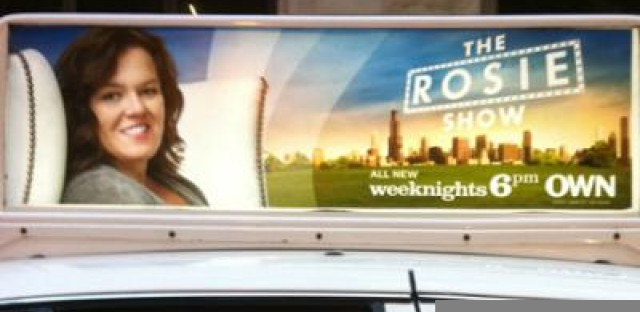 'Rosie Show' billboards very un-Chicago