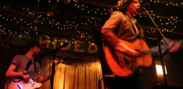 The Singleman Affair performing at Chicago's Hideout.