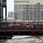 This Oct. 26, 2009 file photo shows the the Chicago Sun-Times building in Chicago.