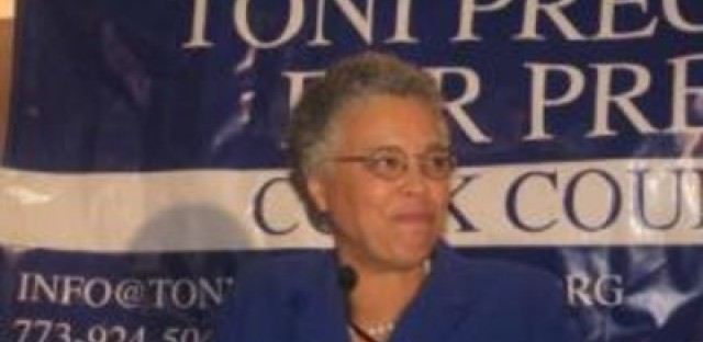 Toni Preckwinkle wants to cut Cook County sales tax