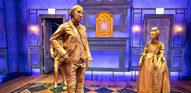 """The creators behind the hit musical 'Hamilton' developed an exhibition, which offers a """"deeper and wider"""" look into the life of Alexander Hamilton."""
