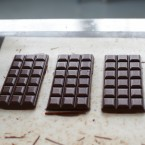 Chocolate bars from San Francisco-based Dandelion Chocolate. The company makes reports about its sourcing practices available to the public online.