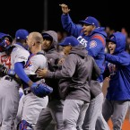 Chicago Cubs Win NLDS Against SF Giants