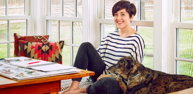 Grace Bonney, author In The Company of Women and creator of Design Sponge.