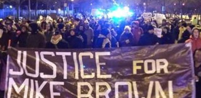 Local group responds to grand jury decision in Ferguson -