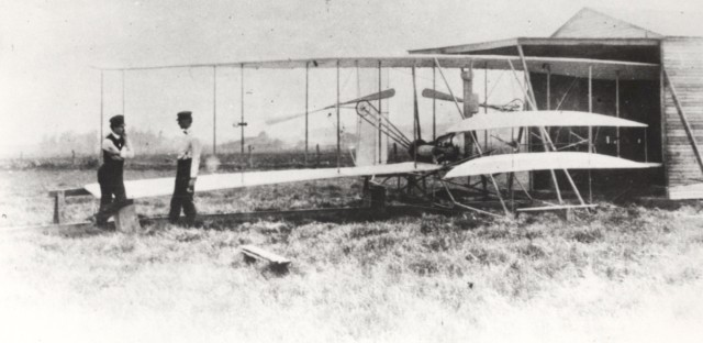 World History Minute: The Wright Brothers fly sucessfully